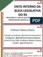 Art 94 Slides Aula 3 Al Rs Legislacao Aplicavel Mateus Silveira