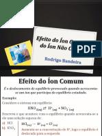 3ano Efeito Ion Comum Nao Comum