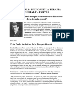 Gestalt y Fritz Perls