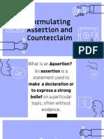 Rws Assertion & Counterclaim - Copy