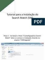Tutorial Para a Instalação Do Search Match