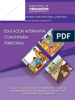 3 La Educacio n Alternativa Como Eje Transformador