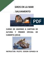 Peligros en La Mar y Salvamento