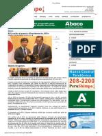 APJ Recibe El Premio «Presidente de JICA