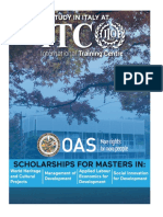 2019 OAS ITC ILO ScholarshipAnnouncement FINAL