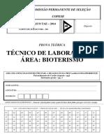 Técnico de Laboratório Bioterismo