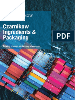 Czarnikow Ingredients & Packaging