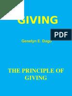 7. Giving Ignite