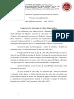 Comparação Entre Metodologias Para Confecção de Ligas Metálicas