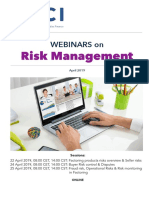 Brochure Webinar Risk Management April 19
