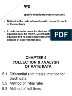 Chap 5 Collection Analysis of Rate Data