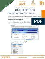 Java Aula 01