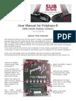 Polybass R UserManual