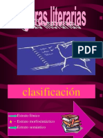 Clasificacion Estrato Fonico Estrato Morfosintactico Estrato Semantico