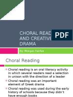 Morgans Choral Reading