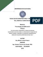Ecuador - Tesis - Master - Poliestireno