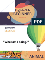 English Beginner W5