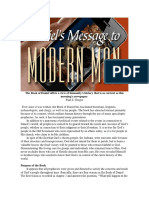 Paul Z. Gregor - Daniel's Messagge to Modern Man