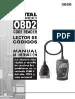 Manual 3020a S