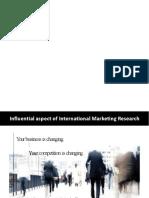 C3 - International Marketing Research