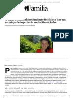 Pilar Baselga - Detrás Del Actual Movimiento Feminista Hay Un Montaje de Ingeniería Social Financiado
