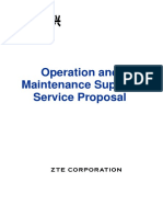 O&M Support Service Proposal
