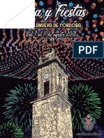 Feria y Fiestas, 2018 - Ayuntamiento de Villanueva de C