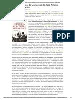 Historia Colonial de Marruecos de José Antonio González Alcantud