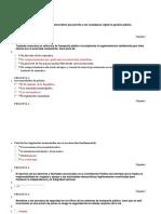 """Evaluacion Unidad 1 Evaluación """"Reconocer Los Derechos, Deberes y Contravenciones de Policía"""""""