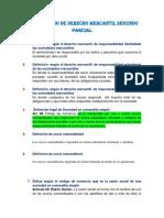 Cuestionario Derecho Mercantil 2