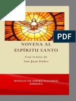Novena Al Espíritu Santo Con Textos de San Juan Eudes