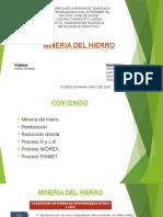 Presentacion Extractiva Mineria Del Hierro