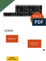 Genre Analysis - First Group Class A