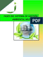 Fases Del Sistema de Gestión Ambiental Municipal
