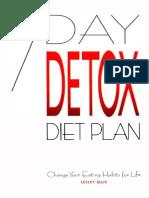 Detox 7 Day Diet