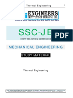 Ssc Je Mechanical Study Material Thermal Engineering
