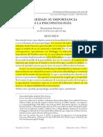 2015 Trad. Dastur La Ipseidad_ Su Importancia en La Psicopatologia