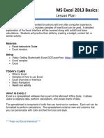 Excel2013 SimpleFormulas Practice