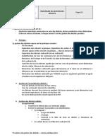 Procédure de Gestion Des Déchets - Version Publique