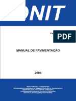 Manual de Pavimentação