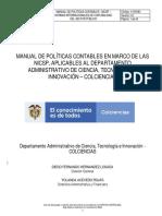 A102M02 Manual de Políticas Contables NICSP V02
