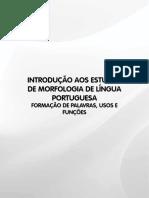 Livro 15 - Introdução Aos Estudos de Morfologia de Língua Portuguesa