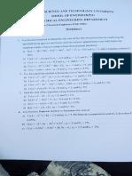 Numerics Worksheet