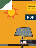 Ceil Solar Brochure