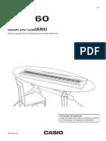 Manual Piano Digital Casio Privia Px 160