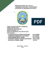 Informe de Cosimetro-metrologia