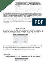 ARTÍCULO 68° PRESUNCIÓN DE INGRESOS OMITIDOS POR
