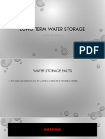 Survive the Zombie Apox. WS2 Long Term Water Storage