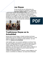 Costumbres Mayas