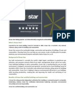 Green Star Rating System